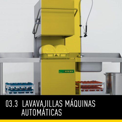 Lavavajillas Máquinas Automáticas