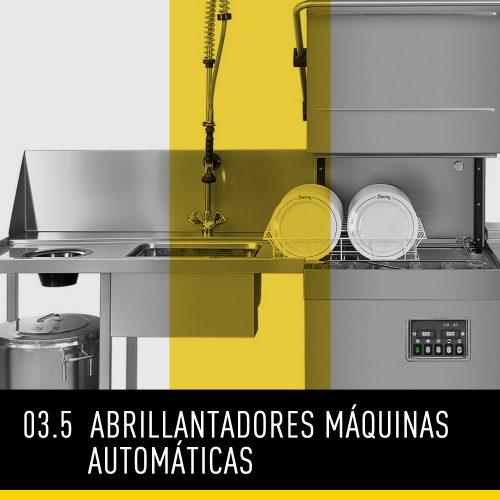 Abrillantadores máquinas automáticas