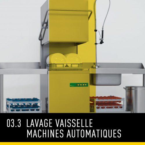 Lavage vaisselle machines automatiques
