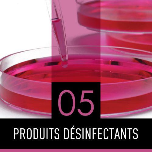 Produits désinfectants