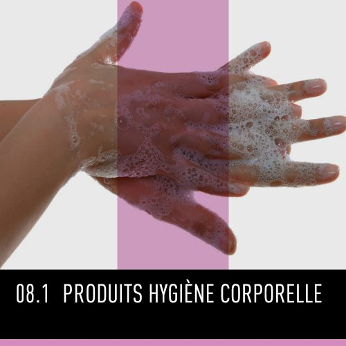 Produits hygiène corporelle